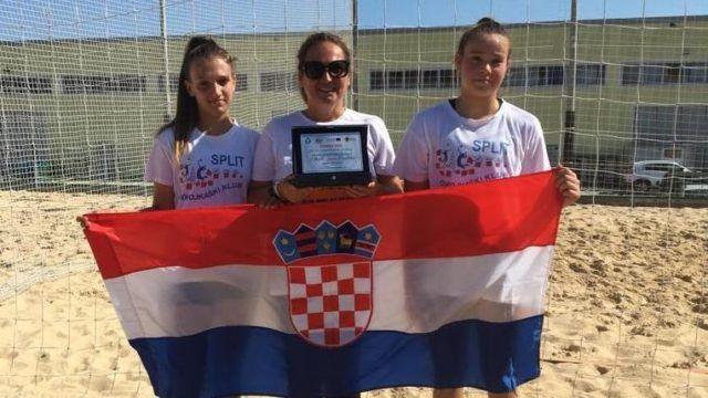 Lucijana Terze i Tia Kovčo osvojile srebro na 3. igrama Jadransko-Jonske makroregije