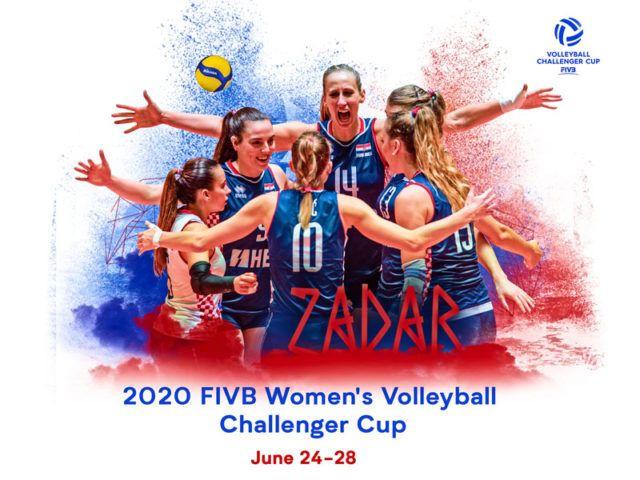 Odgođen FIVB Challenger Cup u Zadru