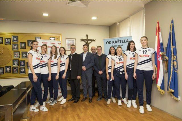 Odbojkaški klub Kaštela nastavio sponzorsku suradnju sa trgovačkim lancem Tommy