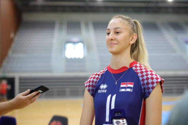 U iščekivanju Europskog U19 prvenstva za žene – kapetanica Mirta Freund