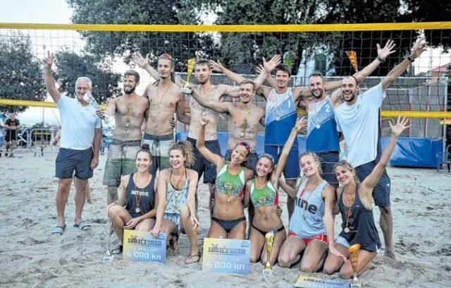 Završen 7. Ičići Open međunarodni turnir odbojke na pijesku