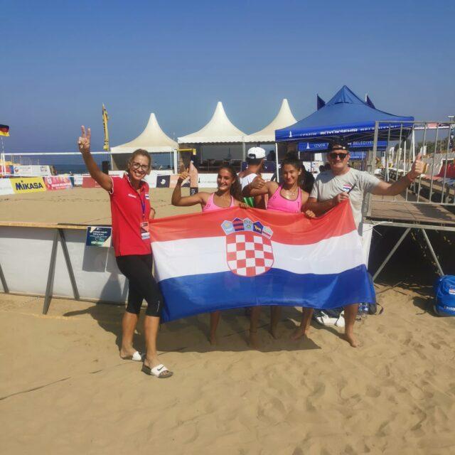 Mlade pjeskašice Hrvatske osigurale prolaz skupine na Europskom U18 prvenstvu