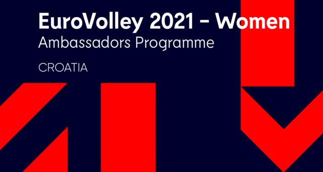 EuroVolleyW 2021 – ambasadorice iz Hrvatske!