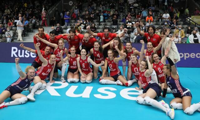 Hrvatska ženska reprezentacija pobjedom nad Španjolskom izborila finale Zlatne europske lige