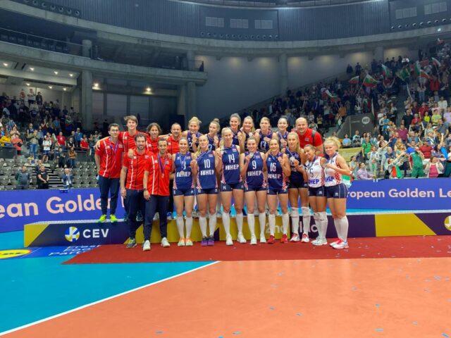 Hrvatska reprezentacija poražena je u finalu Zlatne europske lige od domaćina Bugarske s 1:3